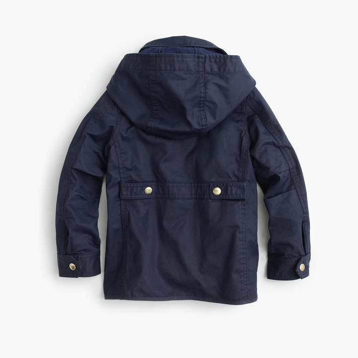 Girls' hooded downtown field jacket 2