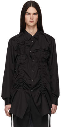 Comme des Garcons Black Bunched-Up Shirt