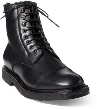 Ralph Lauren Trystan Vachetta Leather Boot
