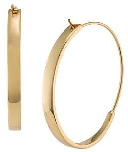 Ralph Lauren Structural Hoop Earrings