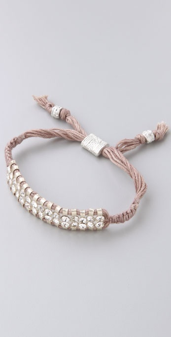 Shashi Double Row Crystal Bracelet