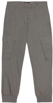 Emporio Armani Kids Cotton poplin pants
