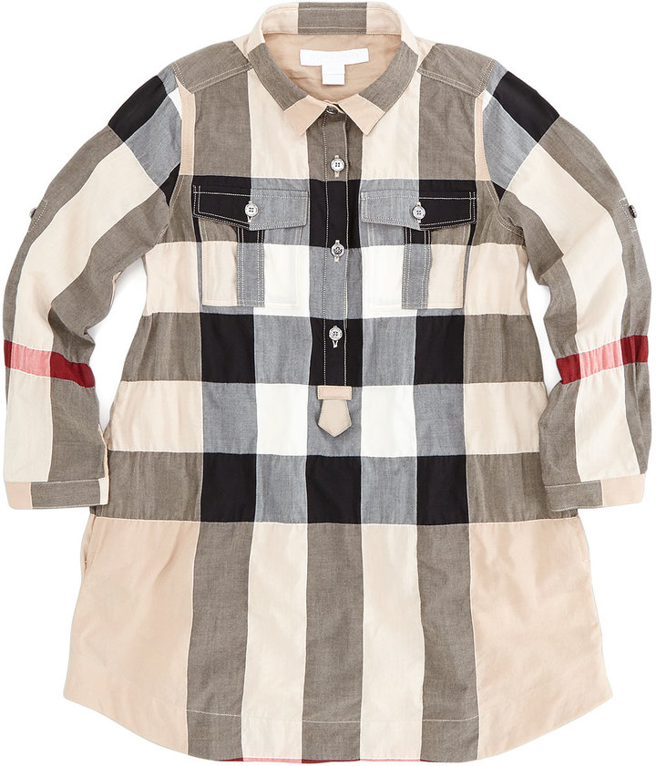 Burberry Exploded Check Dress