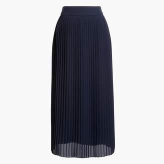 J.Crew Pleated midi skirt