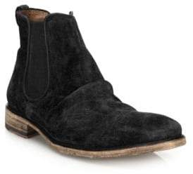 John Varvatos Fleetwood Classic Chelsea Suede Ankle Boots