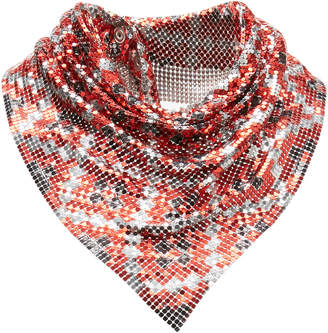 Paco Rabanne Printed Chainmail Scarf