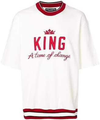 Dolce & Gabbana King sweatshirt