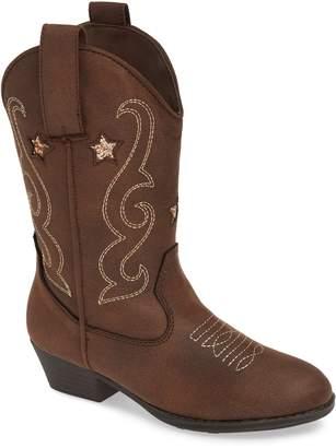 Mia Loulou Glitter Cowboy Boot