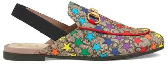 Gucci Children's Princetown glitter slipper