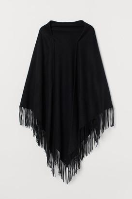 H&M Triangular Wool Scarf - Black