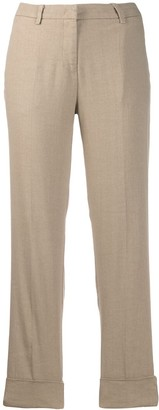 Cambio cropped leg trousers
