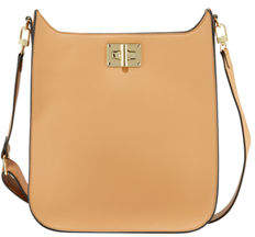 Neiman Marcus Elllie Faux-Leather Crossbody Bag