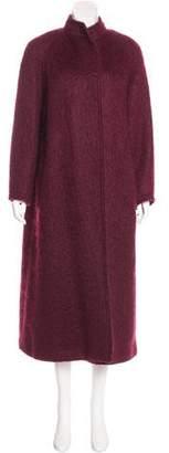 Jaeger Mohair & Wool-Blend Coat