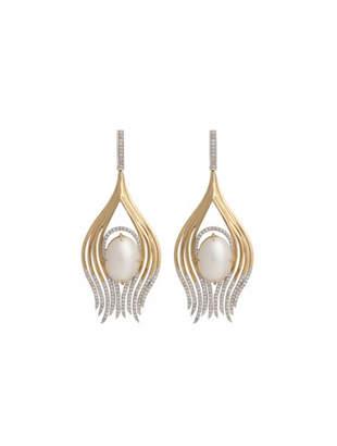 Ana Khouri peacock earrings