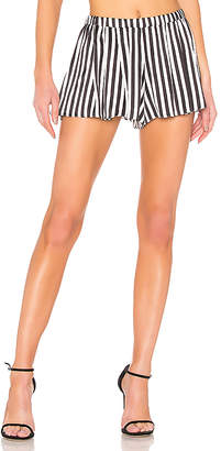 Caroline Constas Pleated Short