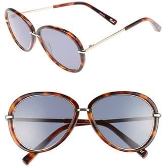Elizabeth and James Reed 57mm Aviator Sunglasses