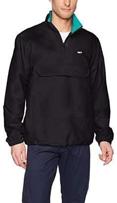 Obey Men's Runaround Windbreaker Anorak Jacket