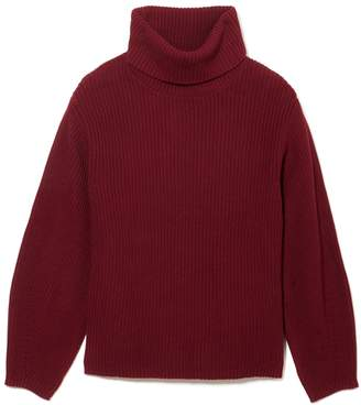 Vince Camuto Rib-stitch Turtleneck Sweater