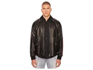 DSQUARED2 50s Leather Jacket Men's Coat