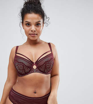 9d28f5c9eaf42 ... City Chic Darcy Underwire Bra D - J Cup