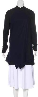 Proenza Schouler Silk Zip-Up Dress