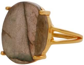 Carousel Jewels - Elegant Labradorite Cocktail Ring