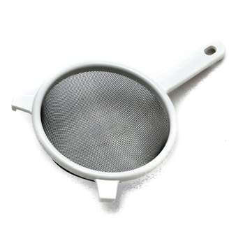 "Chef Craft 6"" Stainless Steel Mesh Strainer, White"