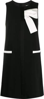 Paule Ka bow detail mini dress