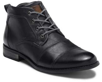 Steve Madden Elect Cap Toe Leather Boot