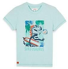 Catimini Little Boy's Surfing Dinosaur Tee