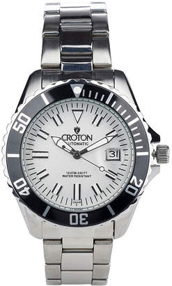 Croton N/A Womens Two Tone Bracelet Watch-Cn207598ttpv
