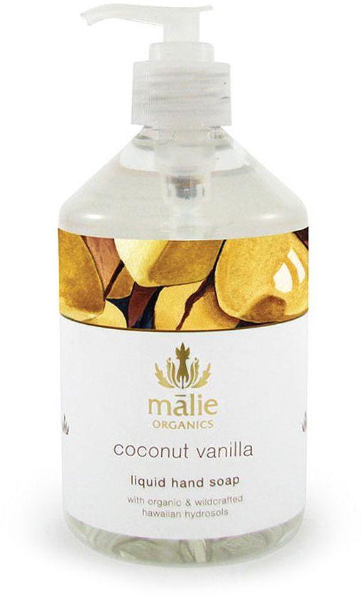 Malie Organics Liquid Hand Soap, Coconut Vanilla