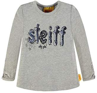 Steiff Girl's 1/1 Arm Long-Sleeved T-Shirt,18-24 Months