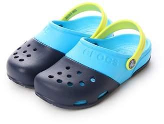 Crocs (クロックス) - LOCONDO クロックス crocs ジュニアサンダル Electro 2.0 Clog Navy/Electric Blue C10 15608-41T-C10 (ネイビー