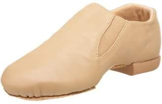 Dance Class Jb600 Caramel Leather Jazz Shoe W/Gore (Little Kid/Big Kid)