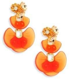 Lele Sadoughi Island Shell Drop Earrings