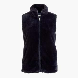 J.Crew Faux-fur vest