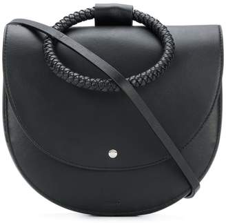 Theory round satchel bag