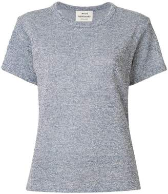 Mads Norgaard glitter short sleeve top