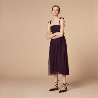 Sandro Long dress with straps
