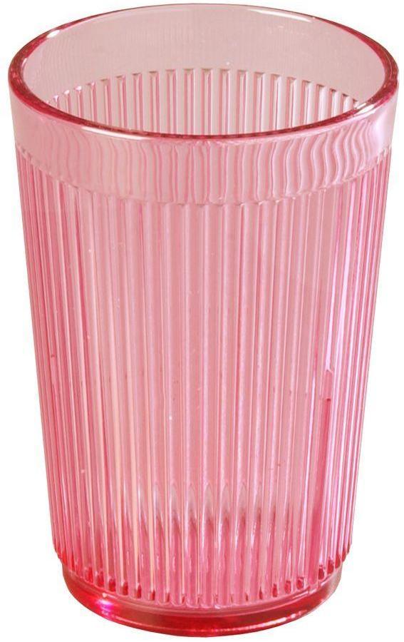 Carlisle 8 oz. SAN Plastic Tumbler in Rose (Case of 48)