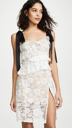 For Love & Lemons Fabienne Midi Dress