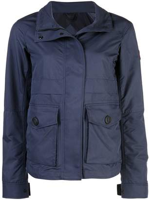 Canada Goose hooded zipped jacket