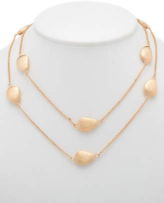 Rivka Friedman 18K Rose Clad 36In Necklace