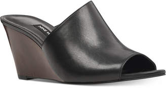 Nine West Janissah Slip-On Wedge Sandals Women's Shoes