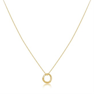 Lily Flo Jewellery Karma Solid Gold Necklace