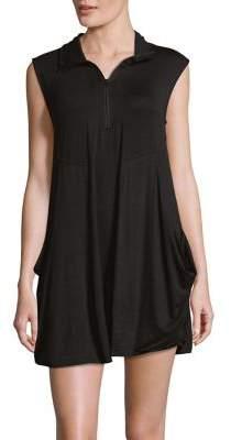 J Valdi Terry Mini Dress