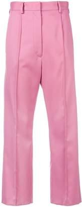 MM6 MAISON MARGIELA cropped high waisted trousers