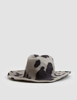 CLYDE Cowboy Hat in Cow Print