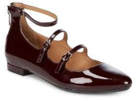 Calvin Klein Gavinia Patent Leather Mary Jane Flats